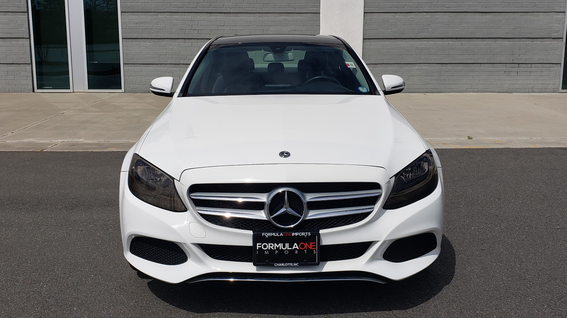 Used 2018 Mercedes-Benz C-CLASS C 300 4MATIC PREMIUM / HTD STS / PANO-ROOF / REARVIEW for sale Sold at Formula Imports in Charlotte NC 28227 18