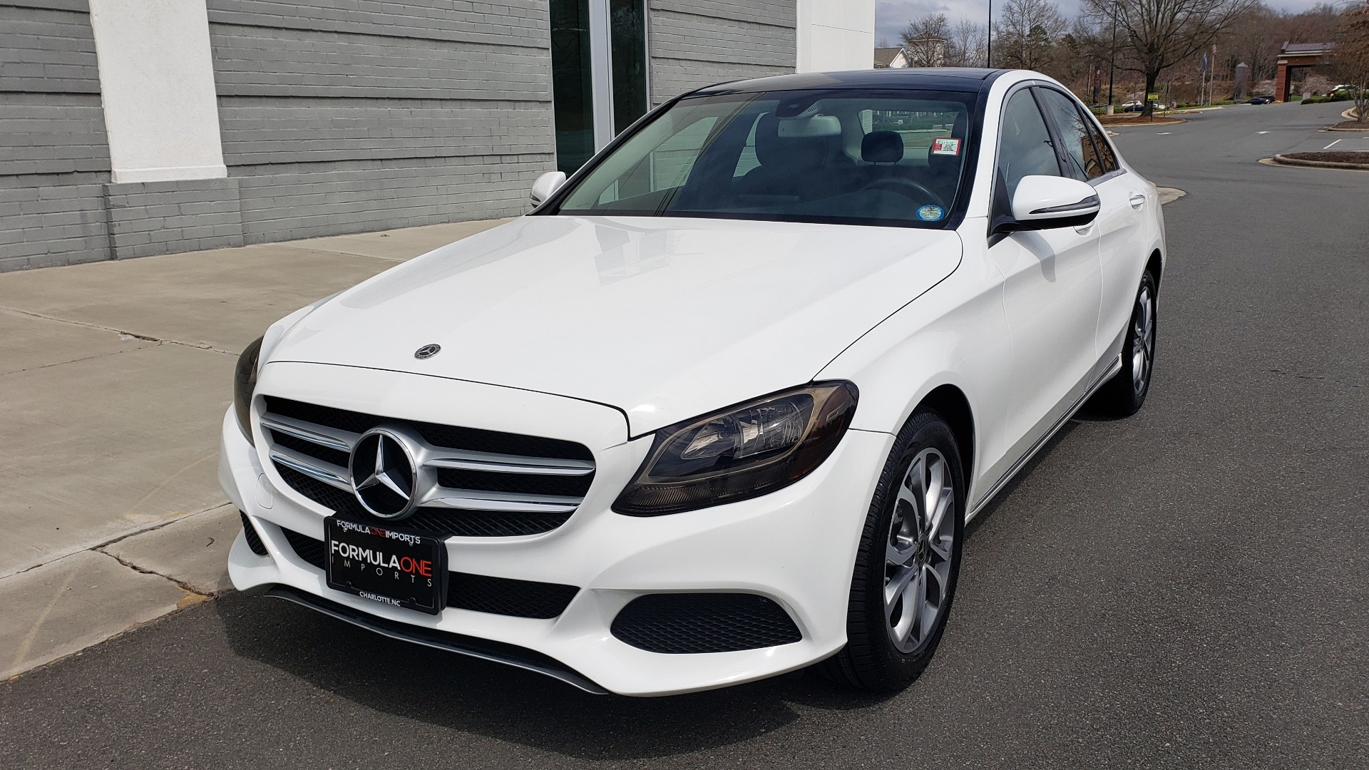 Used 2018 Mercedes-Benz C-CLASS C 300 4MATIC PREMIUM / HTD STS / PANO-ROOF / REARVIEW for sale Sold at Formula Imports in Charlotte NC 28227 2
