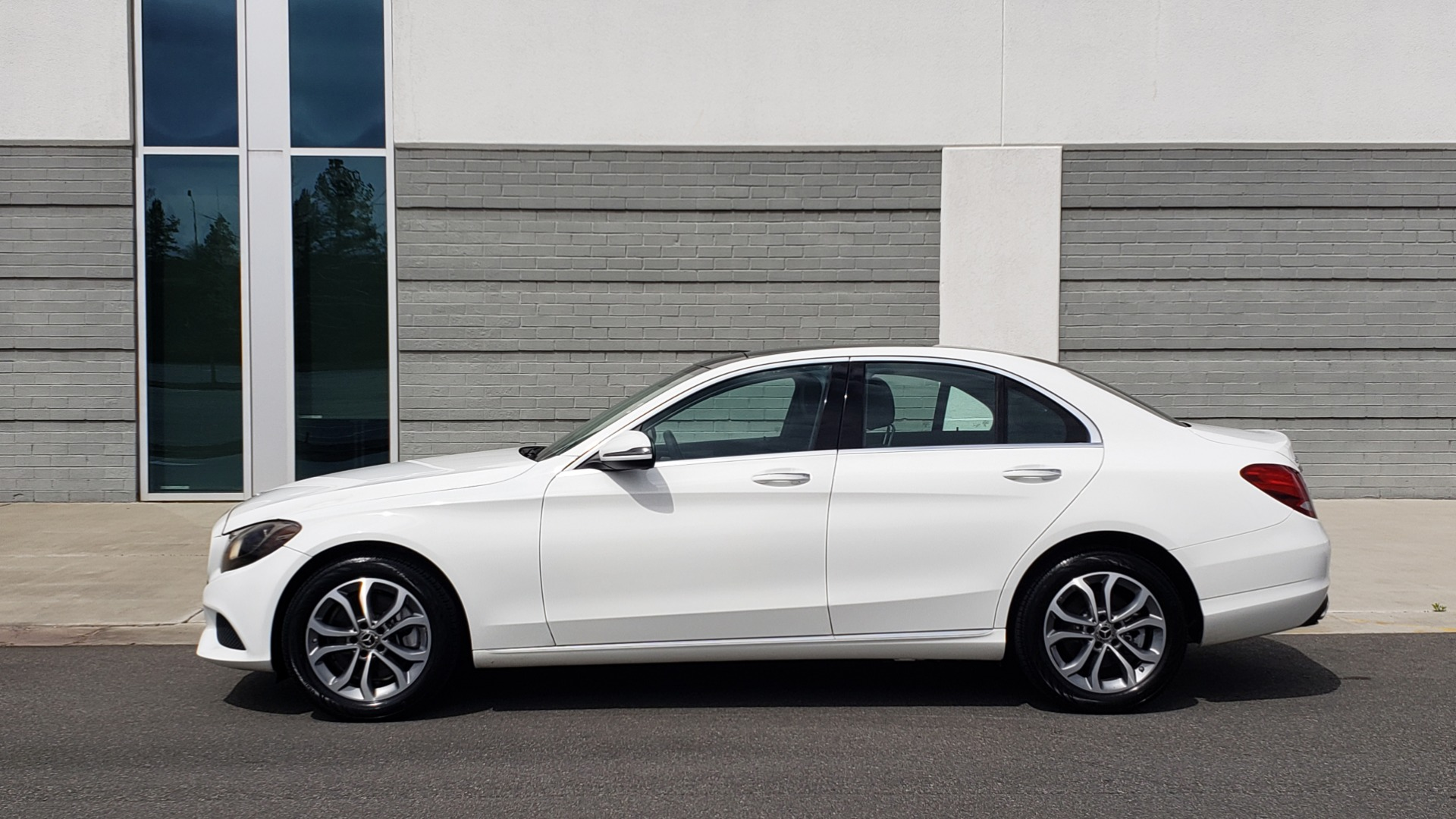 Used 2018 Mercedes-Benz C-CLASS C 300 4MATIC PREMIUM / HTD STS / PANO-ROOF / REARVIEW for sale Sold at Formula Imports in Charlotte NC 28227 3