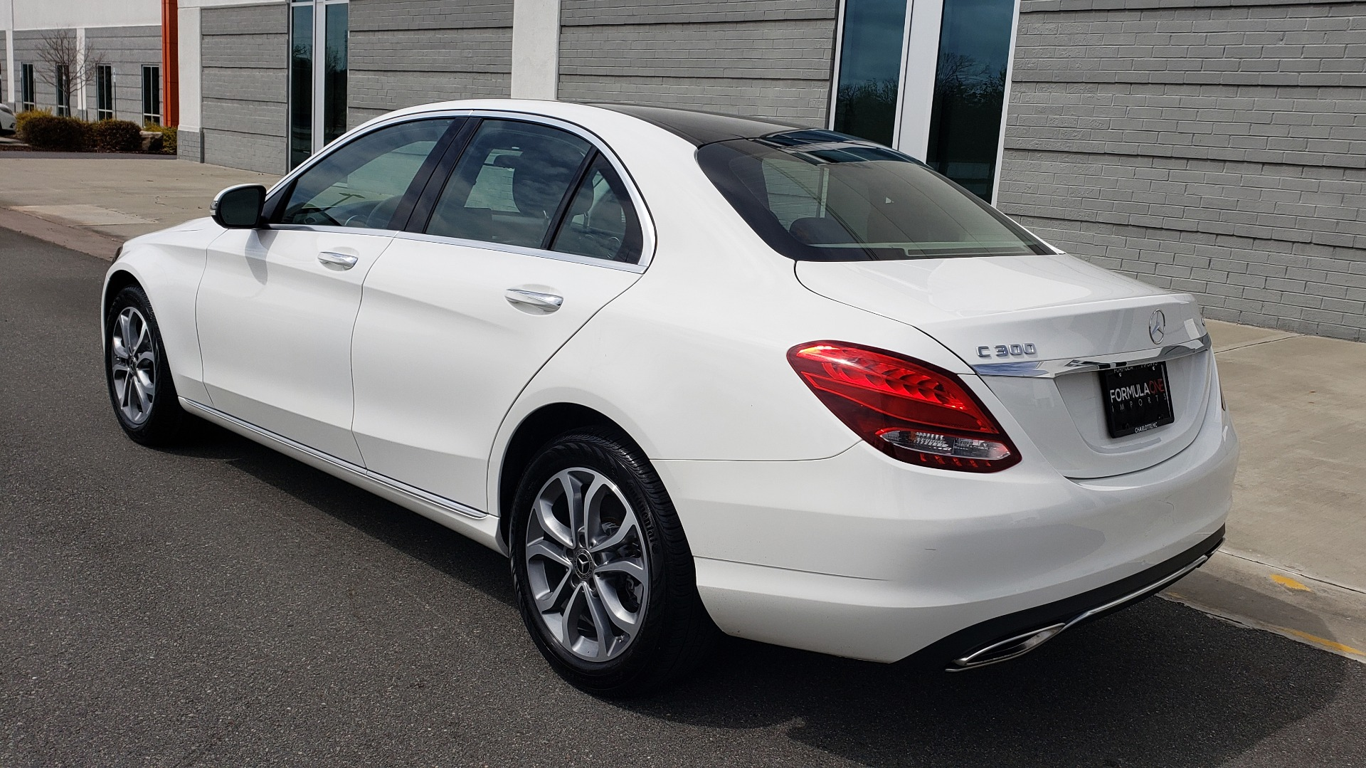 Used 2018 Mercedes-Benz C-CLASS C 300 4MATIC PREMIUM / HTD STS / PANO-ROOF / REARVIEW for sale Sold at Formula Imports in Charlotte NC 28227 4