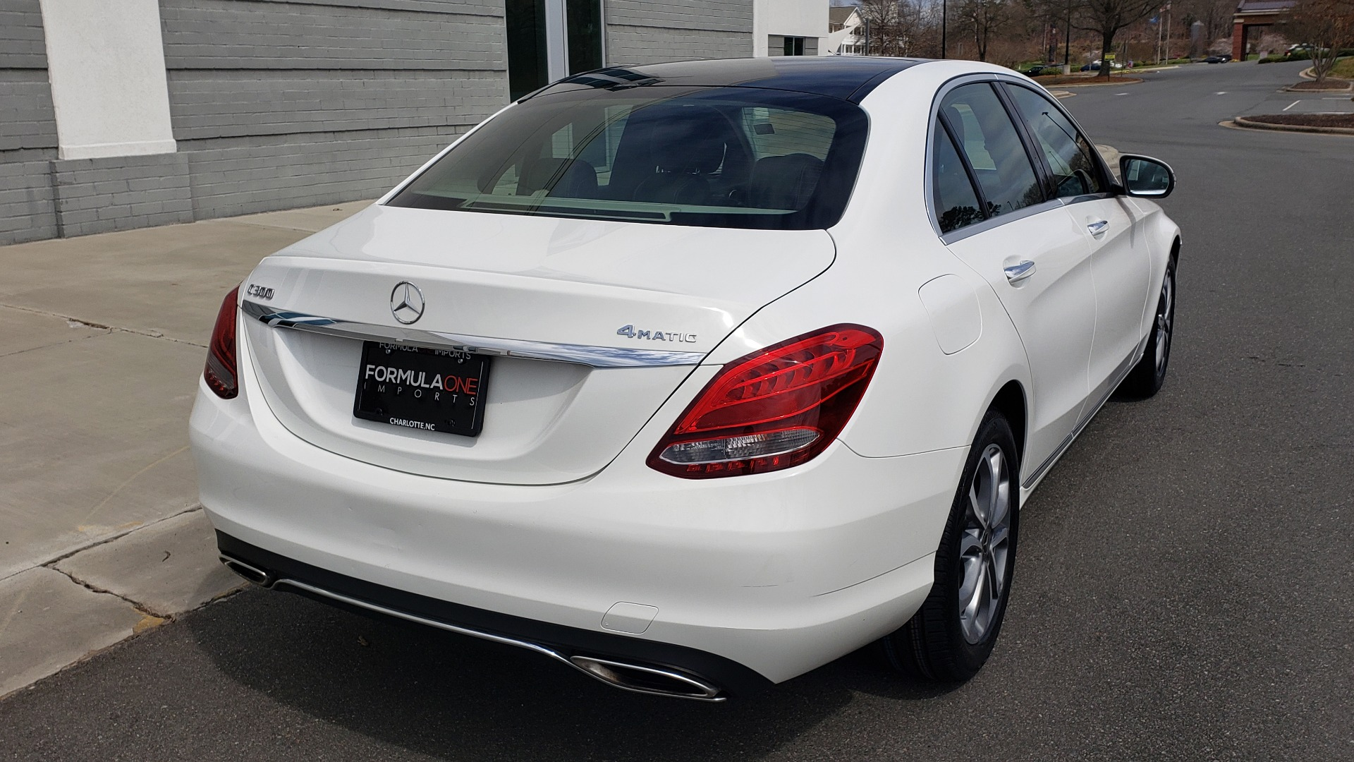 Used 2018 Mercedes-Benz C-CLASS C 300 4MATIC PREMIUM / HTD STS / PANO-ROOF / REARVIEW for sale Sold at Formula Imports in Charlotte NC 28227 7