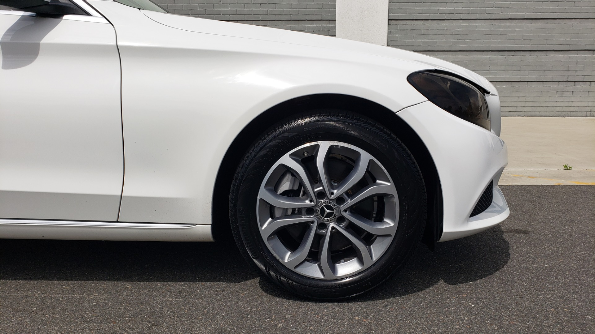 Used 2018 Mercedes-Benz C-CLASS C 300 4MATIC PREMIUM / HTD STS / PANO-ROOF / REARVIEW for sale Sold at Formula Imports in Charlotte NC 28227 78