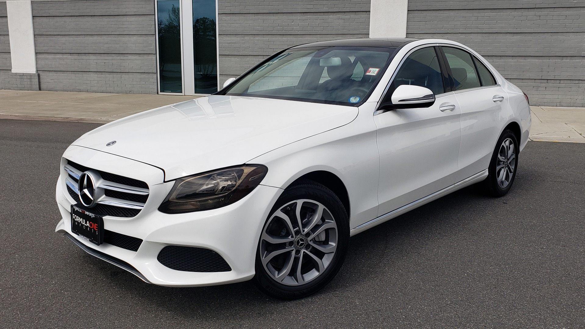 Used 2018 Mercedes-Benz C-CLASS C 300 4MATIC PREMIUM / HTD STS / PANO-ROOF / REARVIEW for sale Sold at Formula Imports in Charlotte NC 28227 1