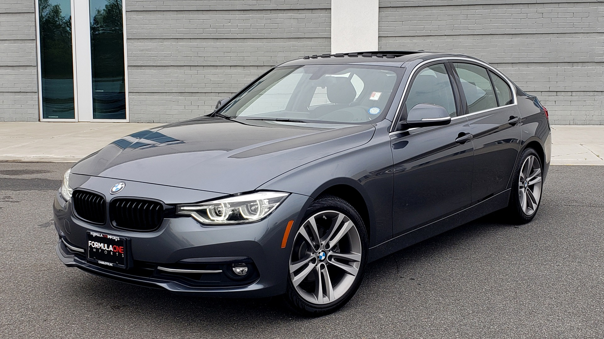 Used 2018 BMW 3 SERIES 330I XDRIVE PREMIUM / CONV PKG NAV / BLIND SPOT / HTD STS / REARVIEW for sale $22,695 at Formula Imports in Charlotte NC 28227 1
