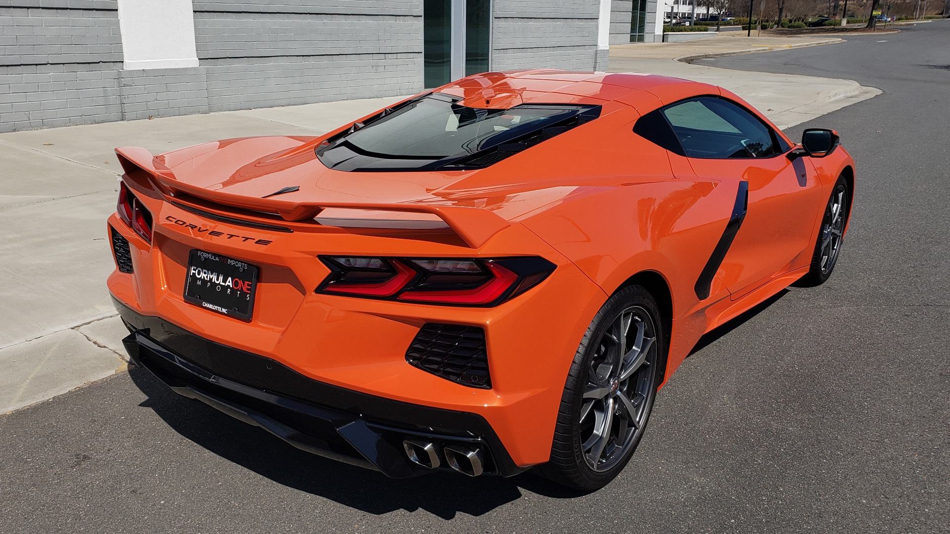 Used 2020 Chevrolet CORVETTE C8 STINGRAY 3LT COUPE / NAV / BOSE / CAMERA / LIKE NEW for sale Sold at Formula Imports in Charlotte NC 28227 10