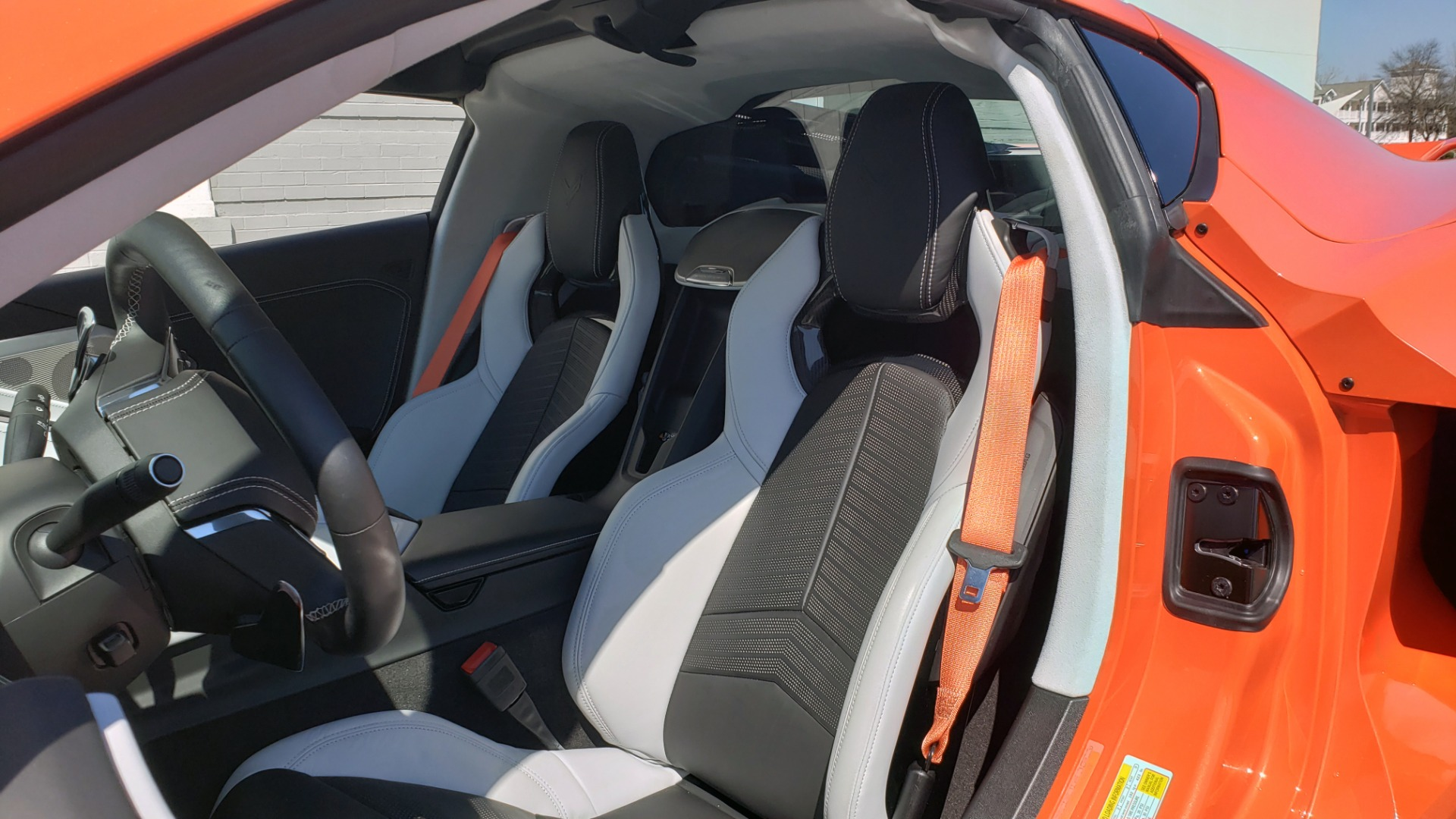 Used 2020 Chevrolet CORVETTE C8 STINGRAY 3LT COUPE / NAV / BOSE / CAMERA / LIKE NEW for sale Sold at Formula Imports in Charlotte NC 28227 14