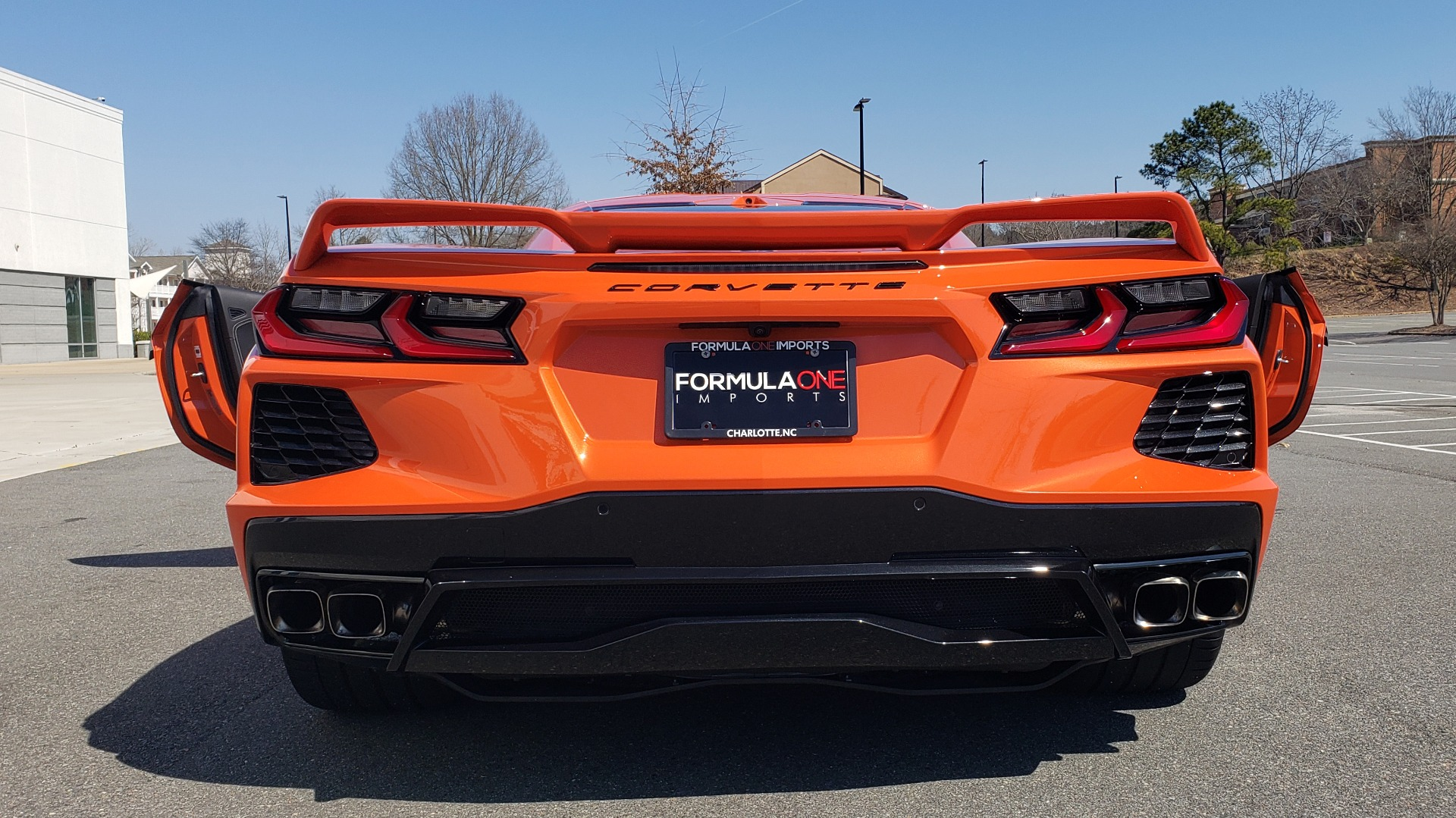 Used 2020 Chevrolet CORVETTE C8 STINGRAY 3LT COUPE / NAV / BOSE / CAMERA / LIKE NEW for sale Sold at Formula Imports in Charlotte NC 28227 32