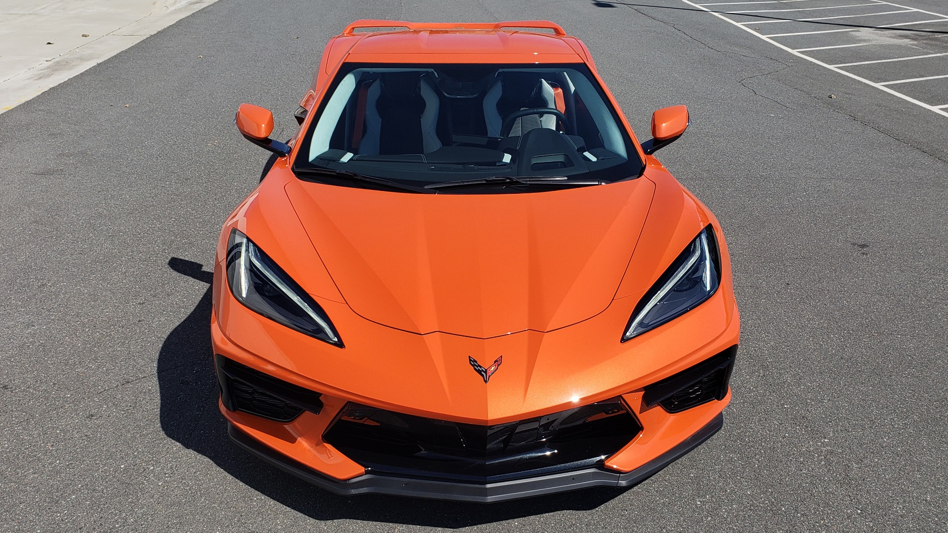 Used 2020 Chevrolet CORVETTE C8 STINGRAY 3LT COUPE / NAV / BOSE / CAMERA / LIKE NEW for sale Sold at Formula Imports in Charlotte NC 28227 34