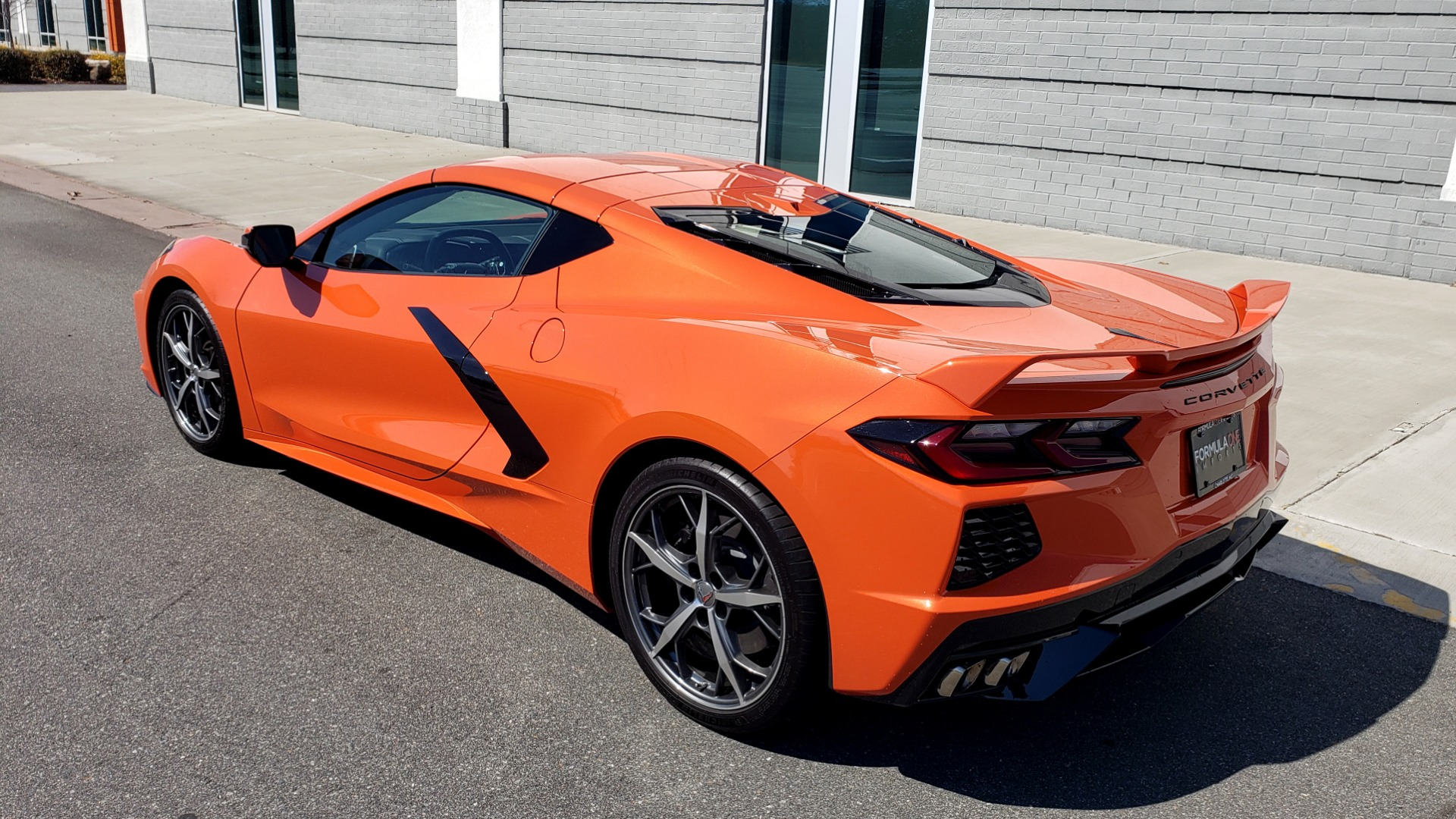 Used 2020 Chevrolet CORVETTE C8 STINGRAY 3LT COUPE / NAV / BOSE / CAMERA / LIKE NEW for sale Sold at Formula Imports in Charlotte NC 28227 7