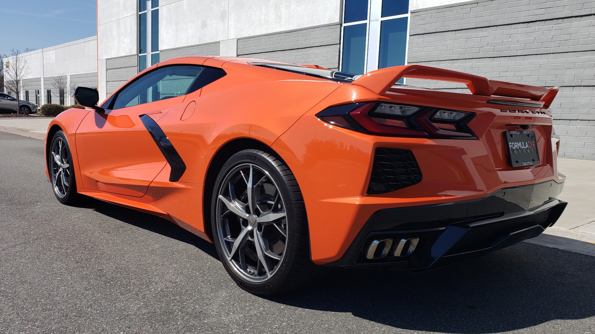 Used 2020 Chevrolet CORVETTE C8 STINGRAY 3LT COUPE / NAV / BOSE / CAMERA / LIKE NEW for sale Sold at Formula Imports in Charlotte NC 28227 8