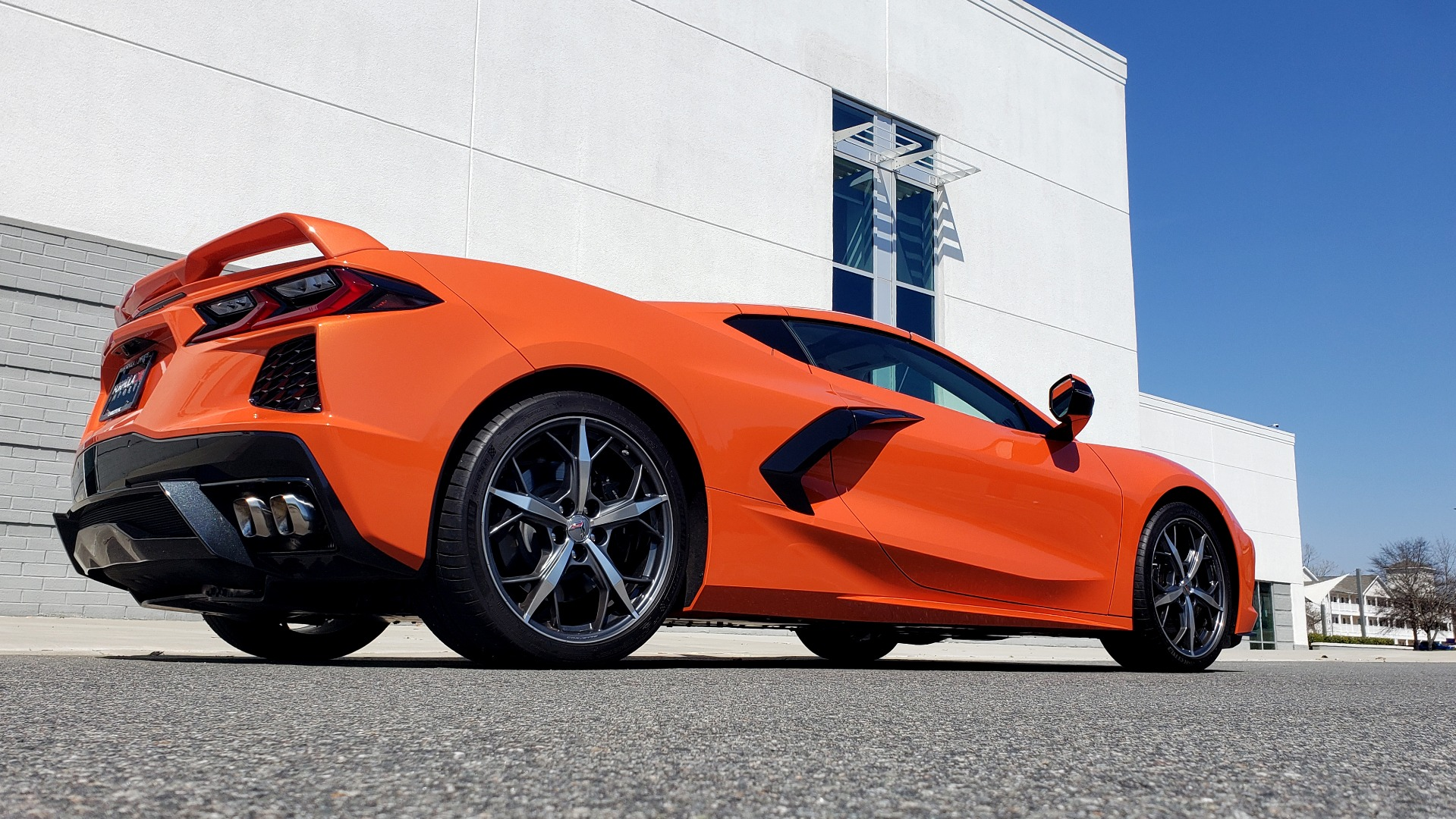 Used 2020 Chevrolet CORVETTE C8 STINGRAY 3LT COUPE / NAV / BOSE / CAMERA / LIKE NEW for sale Sold at Formula Imports in Charlotte NC 28227 9