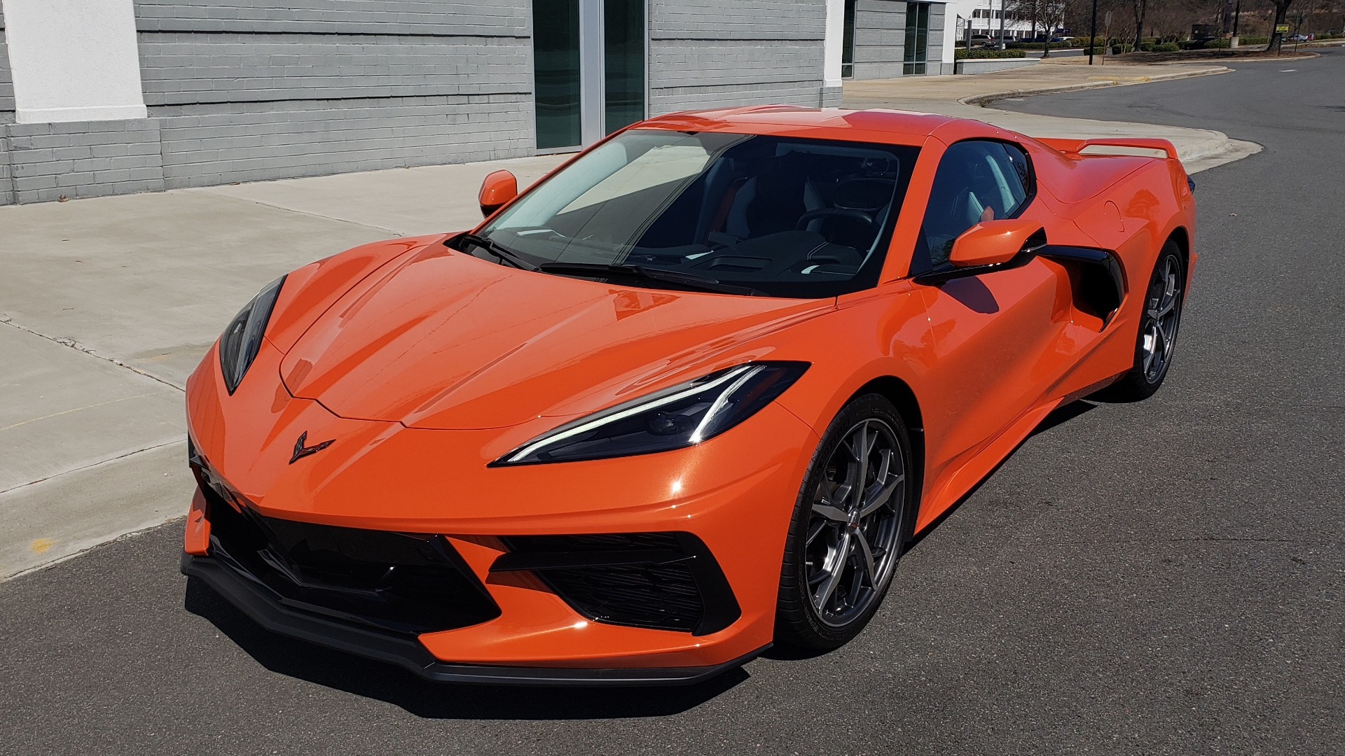 Used 2020 Chevrolet CORVETTE C8 STINGRAY 3LT COUPE / NAV / BOSE / CAMERA / LIKE NEW for sale Sold at Formula Imports in Charlotte NC 28227 1