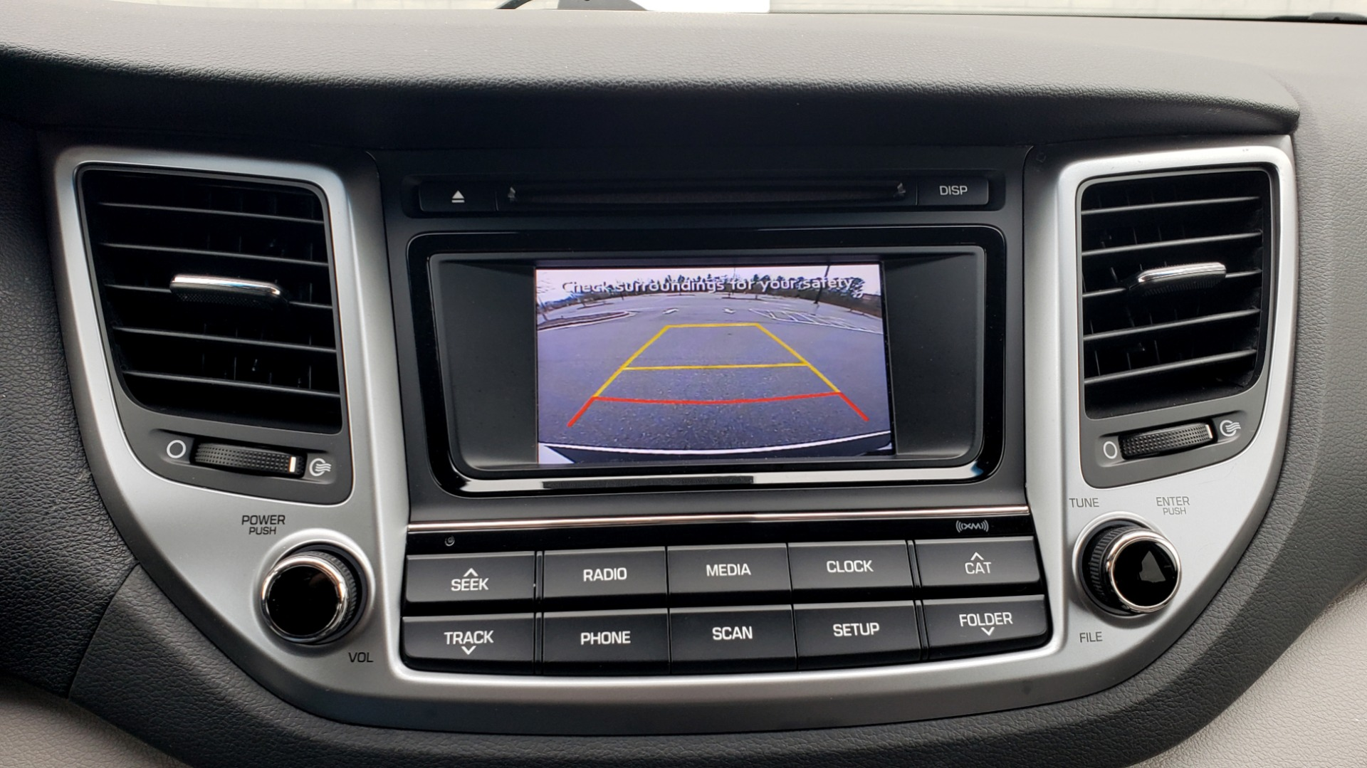Used 2017 Hyundai TUCSON SE / 2.0L / 6-SPD AUTO / CLOTH / REARVIEW CAMERA for sale Sold at Formula Imports in Charlotte NC 28227 46