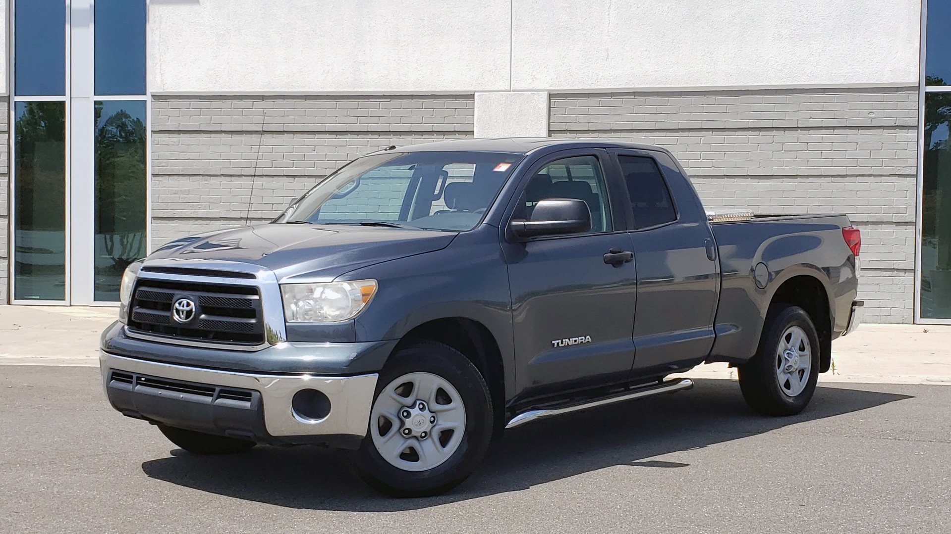 Used 2010 Toyota TUNDRA DOUBLECAB 4X4 / 4.6L V8 / 6-SPD AUTO / TOW PKG / 18IN WHEELS for sale $17,995 at Formula Imports in Charlotte NC 28227 1