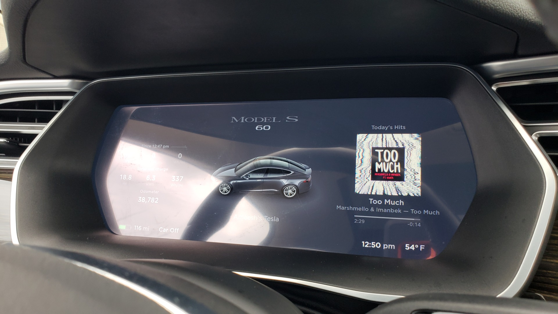 Used 2014 Tesla MODEL S 60 kWh BATTERY / TECH / NAV / SUBZERO / SUNROOF / REARVIEW for sale Sold at Formula Imports in Charlotte NC 28227 36
