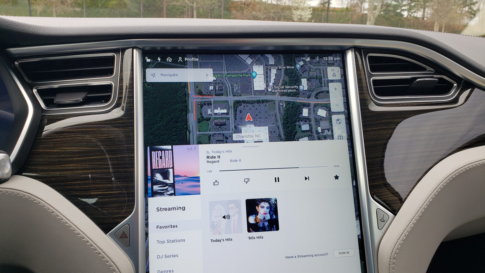 Used 2014 Tesla MODEL S 60 kWh BATTERY / TECH / NAV / SUBZERO / SUNROOF / REARVIEW for sale Sold at Formula Imports in Charlotte NC 28227 43