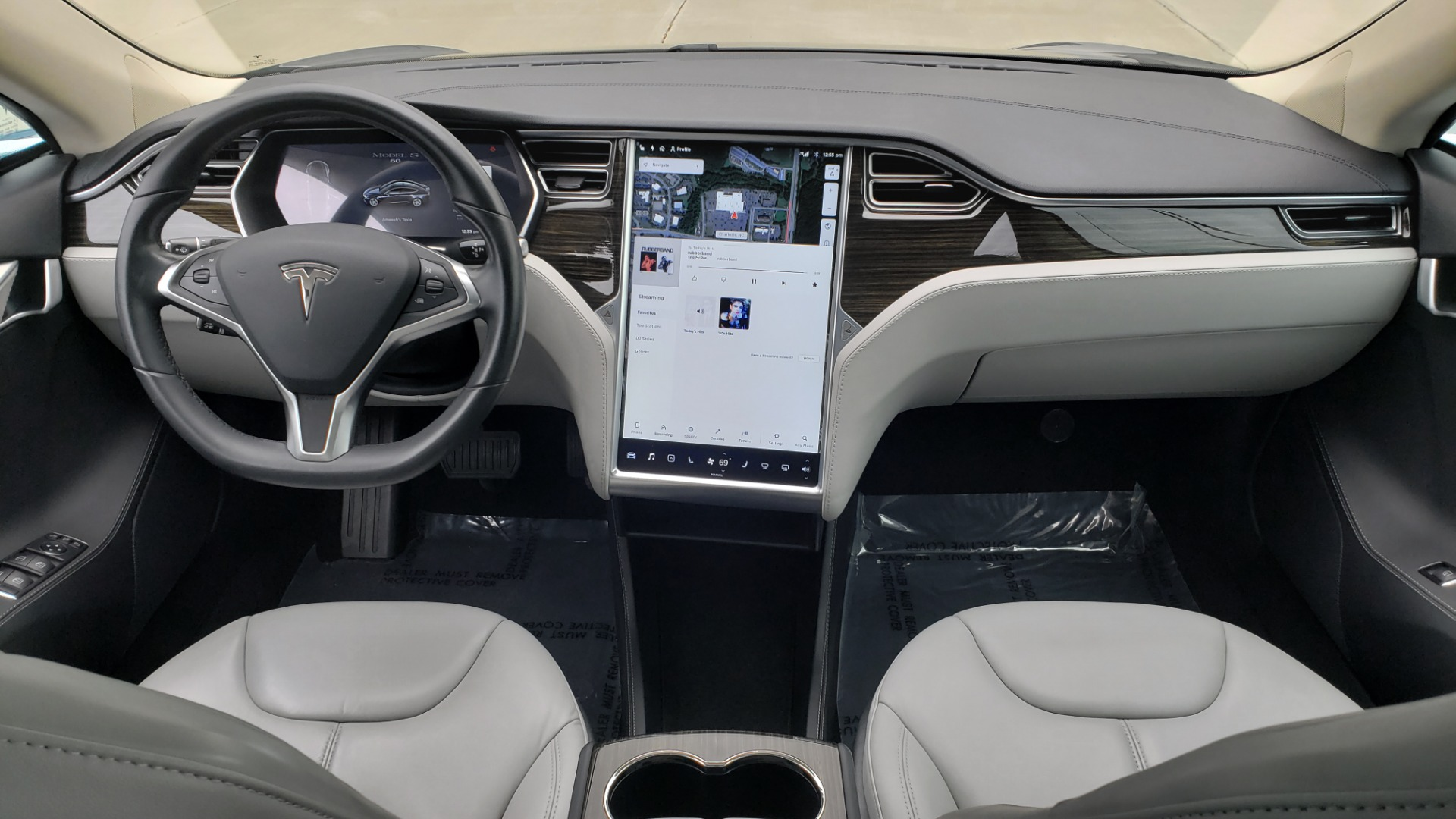 Used 2014 Tesla MODEL S 60 kWh BATTERY / TECH / NAV / SUBZERO / SUNROOF / REARVIEW for sale Sold at Formula Imports in Charlotte NC 28227 63