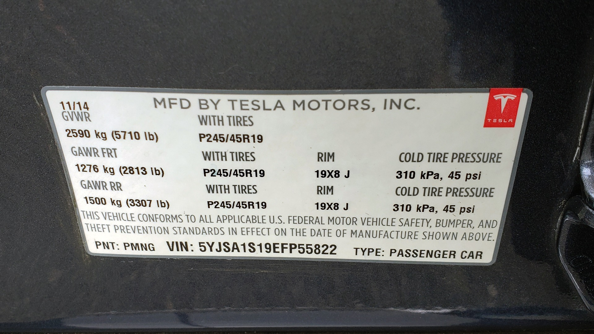 Used 2014 Tesla MODEL S 60 kWh BATTERY / TECH / NAV / SUBZERO / SUNROOF / REARVIEW for sale Sold at Formula Imports in Charlotte NC 28227 73