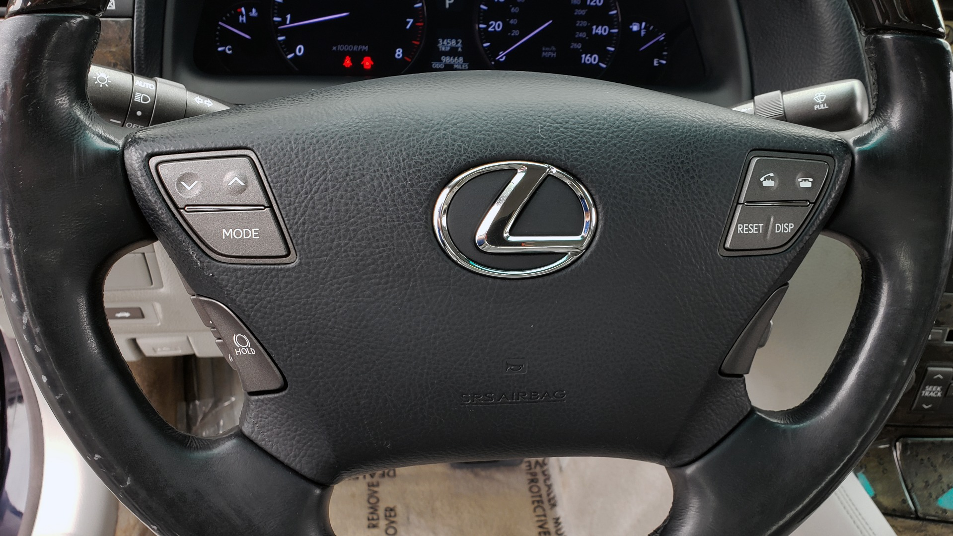 Used 2008 Lexus LS 460 LWB LUXURY SEDAN / MARK LEVINSON / INT PARK ASST / REARVIEW for sale Sold at Formula Imports in Charlotte NC 28227 35