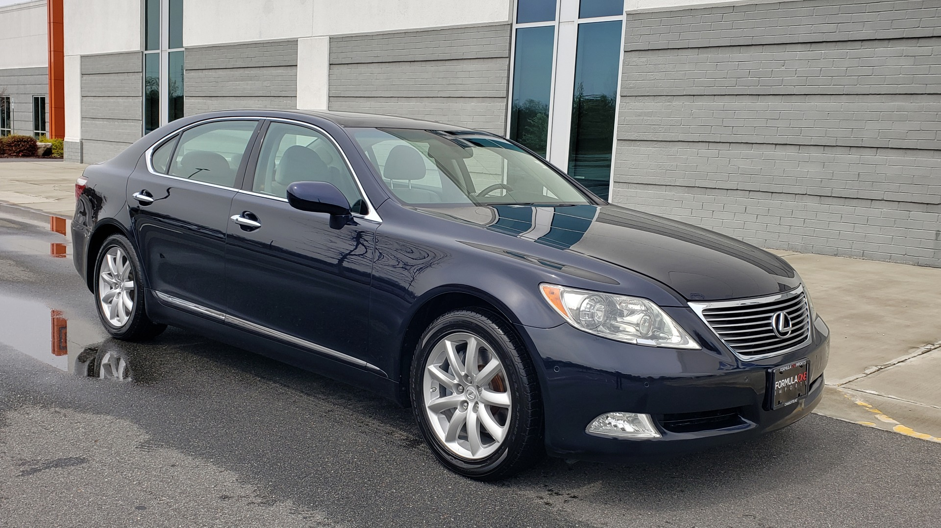Used 2008 Lexus LS 460 LWB LUXURY SEDAN / MARK LEVINSON / INT PARK ASST / REARVIEW for sale Sold at Formula Imports in Charlotte NC 28227 5