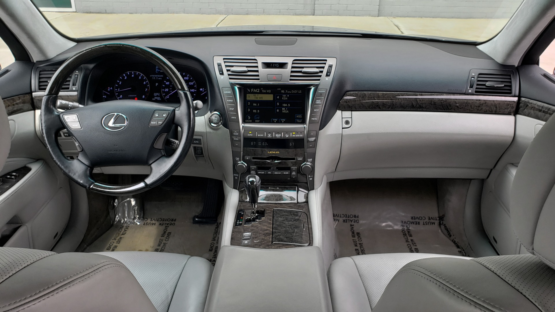 Used 2008 Lexus LS 460 LWB LUXURY SEDAN / MARK LEVINSON / INT PARK ASST / REARVIEW for sale Sold at Formula Imports in Charlotte NC 28227 77