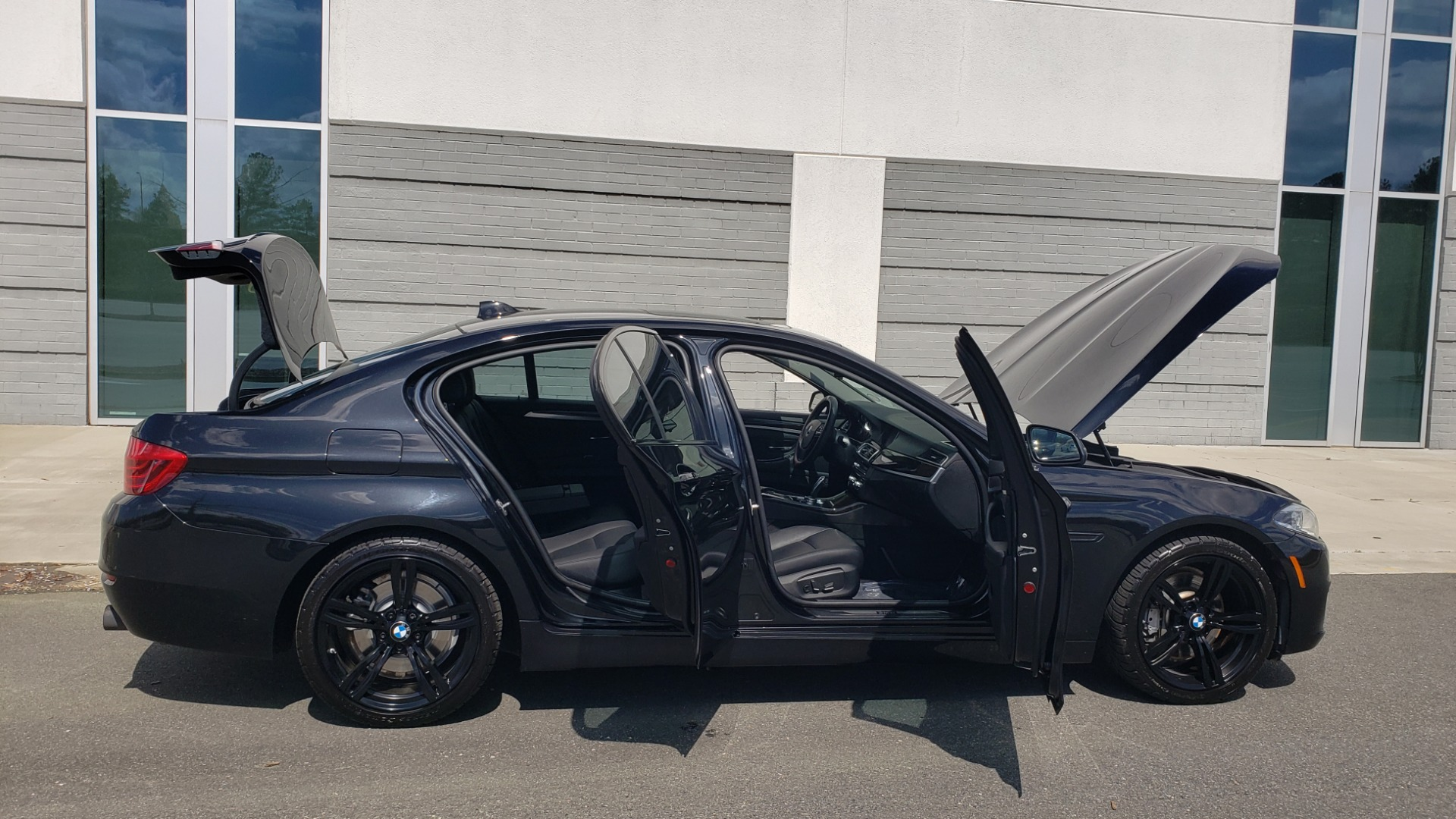 Used 2014 BMW 5 SERIES 535I PREMIUM / HUD / NAV / HTD STS / SUNROOF / REARVIEW for sale $18,995 at Formula Imports in Charlotte NC 28227 12