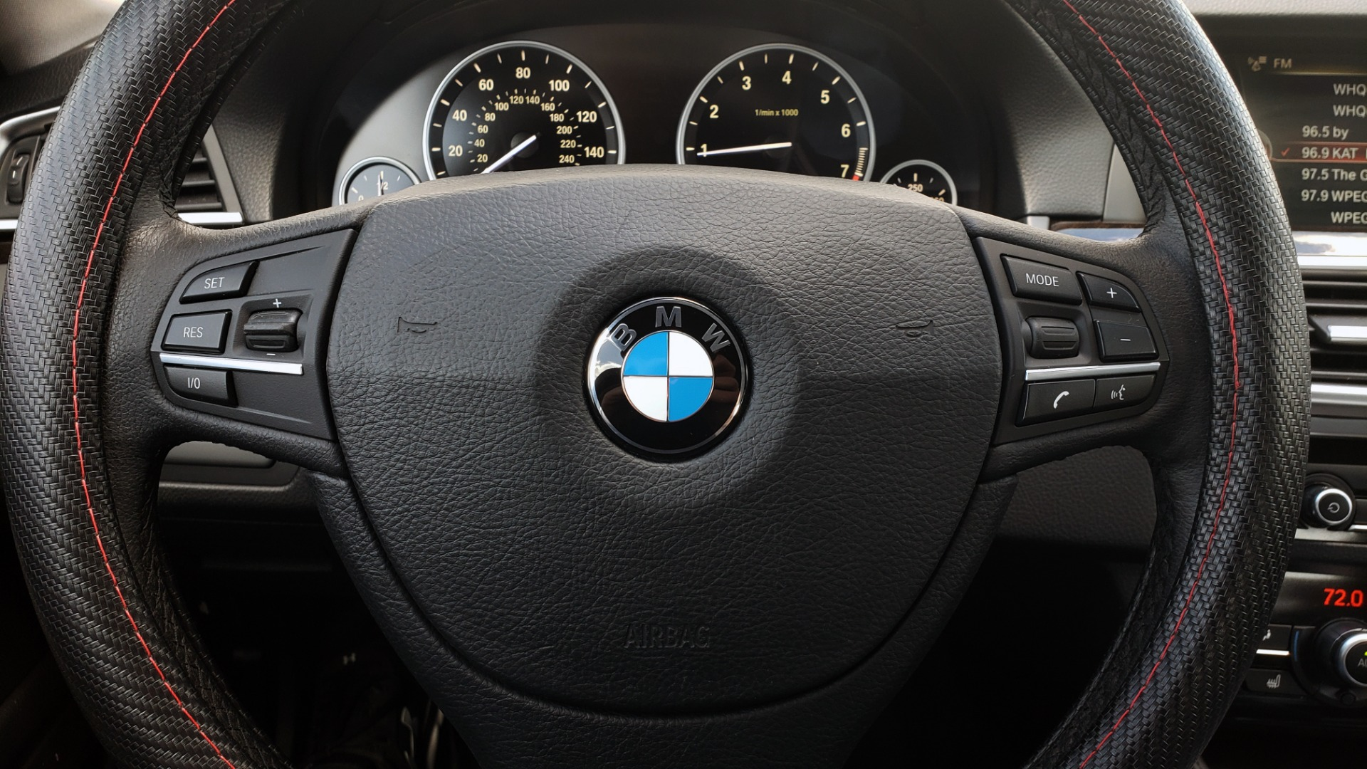 Used 2014 BMW 5 SERIES 535I PREMIUM / HUD / NAV / HTD STS / SUNROOF / REARVIEW for sale $18,995 at Formula Imports in Charlotte NC 28227 39