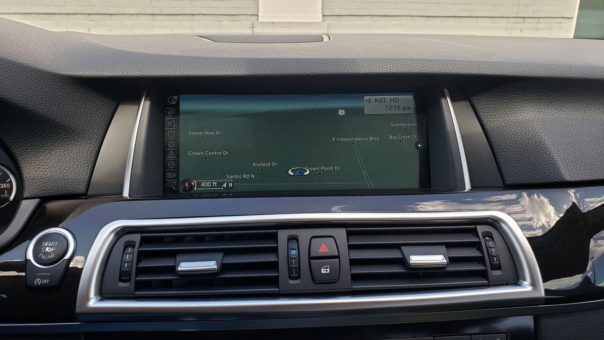 Used 2014 BMW 5 SERIES 535I PREMIUM / HUD / NAV / HTD STS / SUNROOF / REARVIEW for sale $18,995 at Formula Imports in Charlotte NC 28227 47
