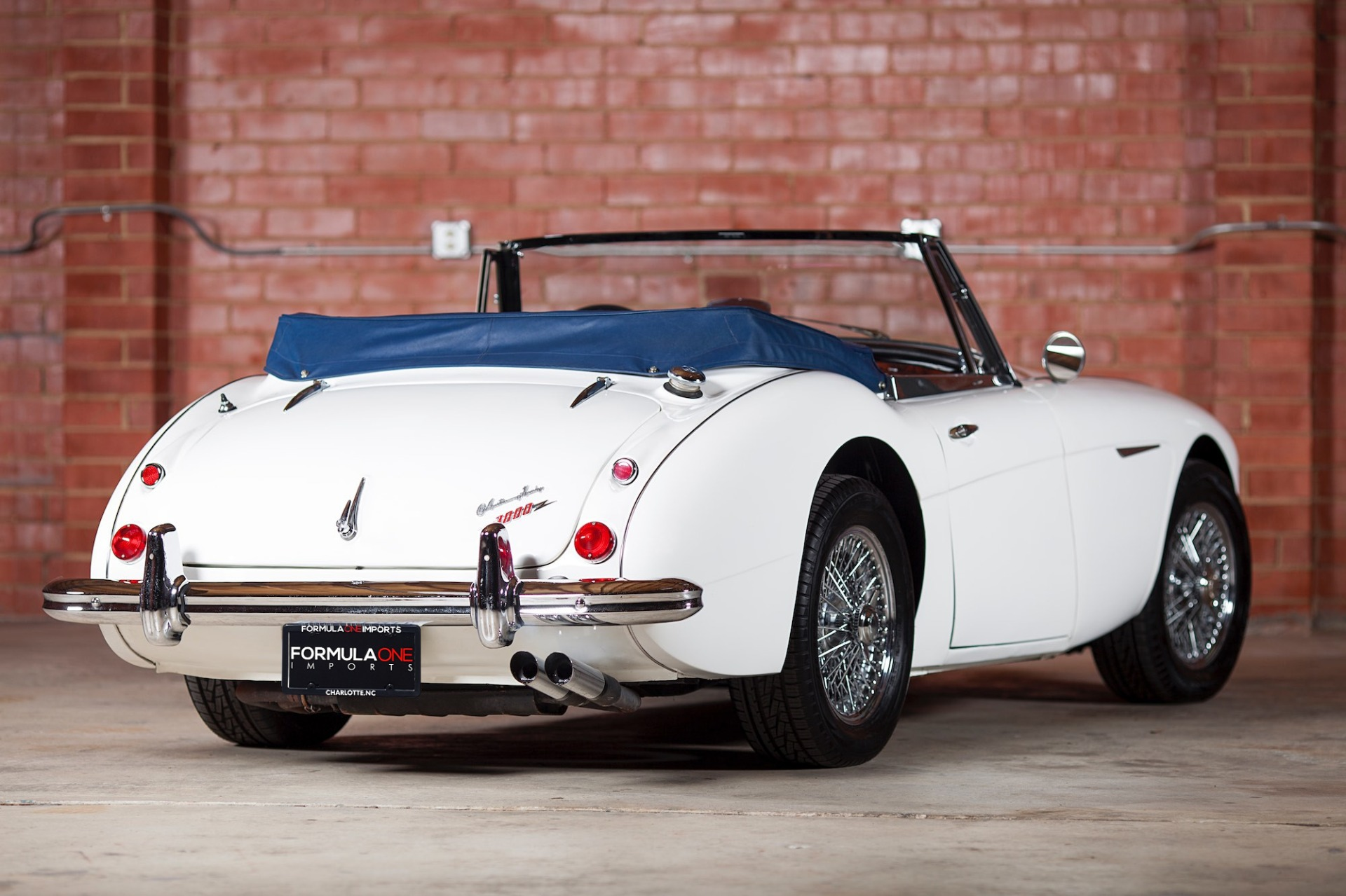 Used 1967 Austin Healey 3000 BJ8 Mk III CONVERTIBLE / 2.9L IN-LINE 6 / 4-SPEED MANUAL / FULLY RESTORED for sale Call for price at Formula Imports in Charlotte NC 28227 5