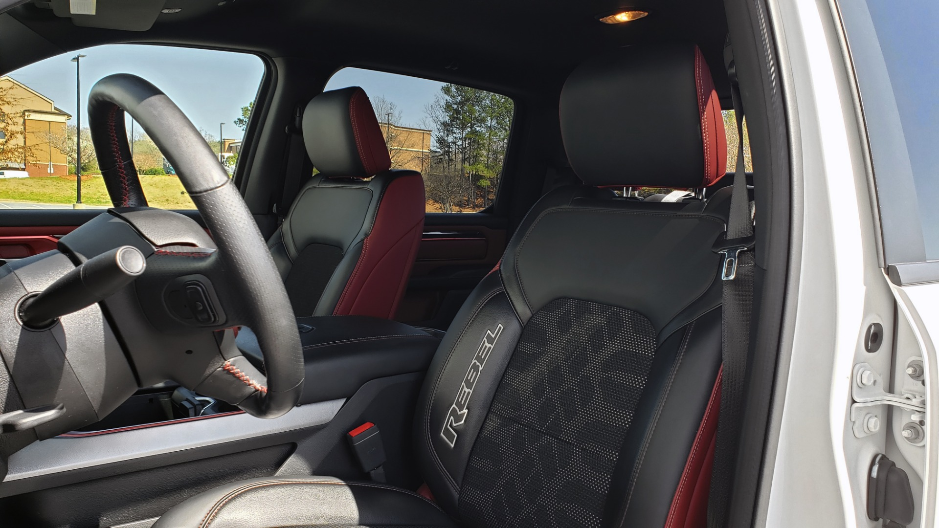 Used 2019 Ram 1500 REBEL CREWCAB 4X4 / 5.7L V8 HEMI / 8-SPD AUTO / REARVIEW for sale Sold at Formula Imports in Charlotte NC 28227 34