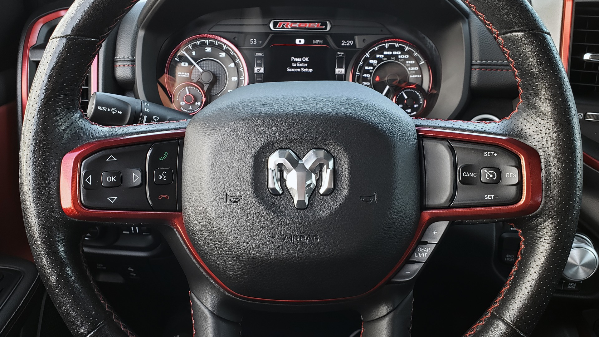 Used 2019 Ram 1500 REBEL CREWCAB 4X4 / 5.7L V8 HEMI / 8-SPD AUTO / REARVIEW for sale Sold at Formula Imports in Charlotte NC 28227 40