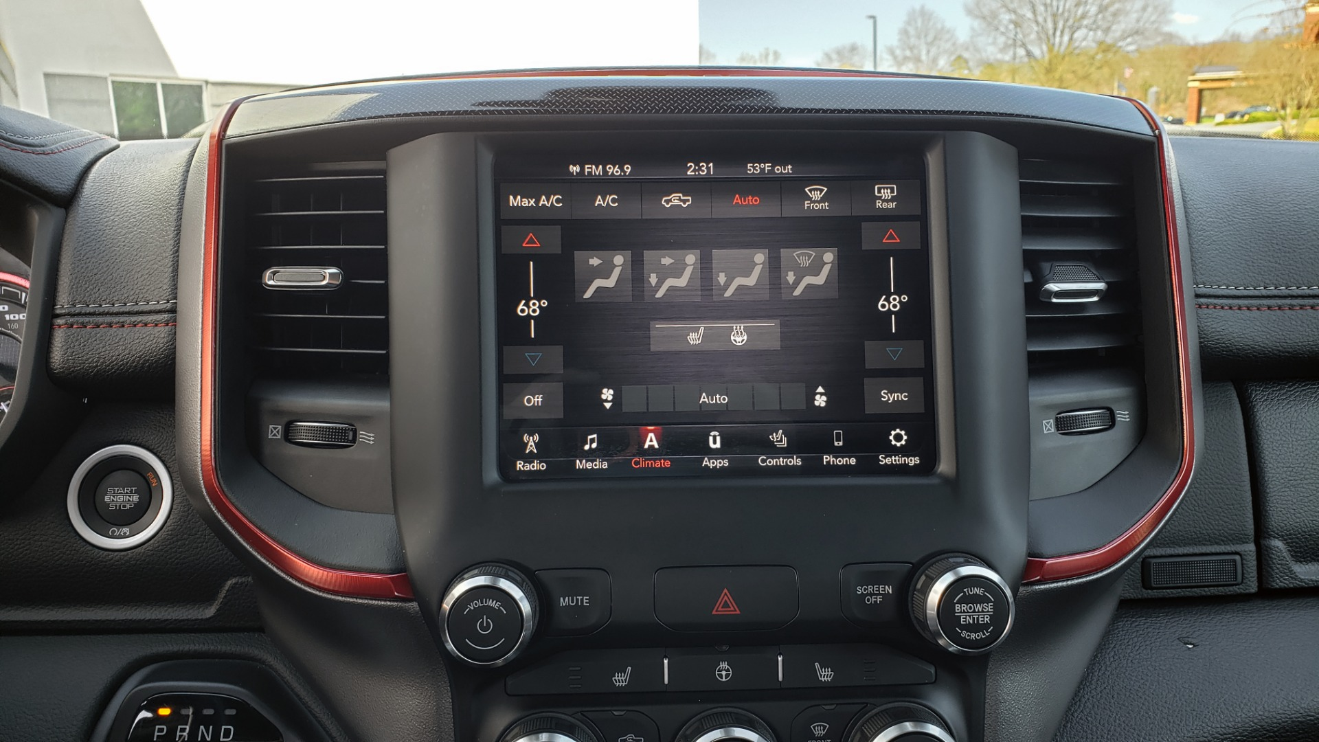 Used 2019 Ram 1500 REBEL CREWCAB 4X4 / 5.7L V8 HEMI / 8-SPD AUTO / REARVIEW for sale Sold at Formula Imports in Charlotte NC 28227 47