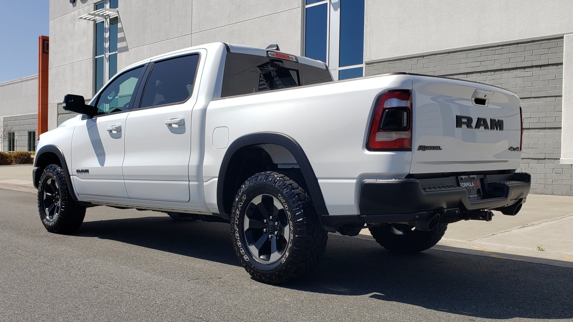 Used 2019 Ram 1500 REBEL CREWCAB 4X4 / 5.7L V8 HEMI / 8-SPD AUTO / REARVIEW for sale Sold at Formula Imports in Charlotte NC 28227 5