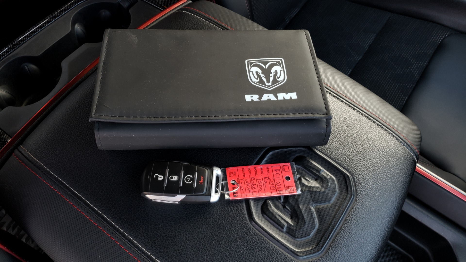 Used 2019 Ram 1500 REBEL CREWCAB 4X4 / 5.7L V8 HEMI / 8-SPD AUTO / REARVIEW for sale Sold at Formula Imports in Charlotte NC 28227 97