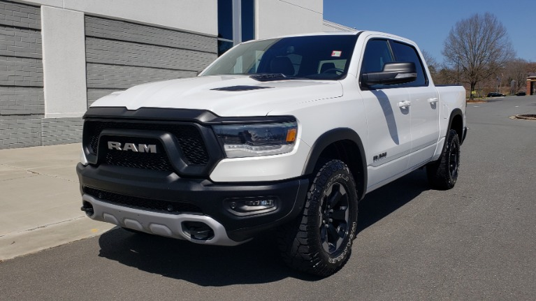 Used 2019 Ram 1500 REBEL CREWCAB 4X4 / 5.7L V8 HEMI / 8-SPD AUTO / REARVIEW for sale $41,495 at Formula Imports in Charlotte NC