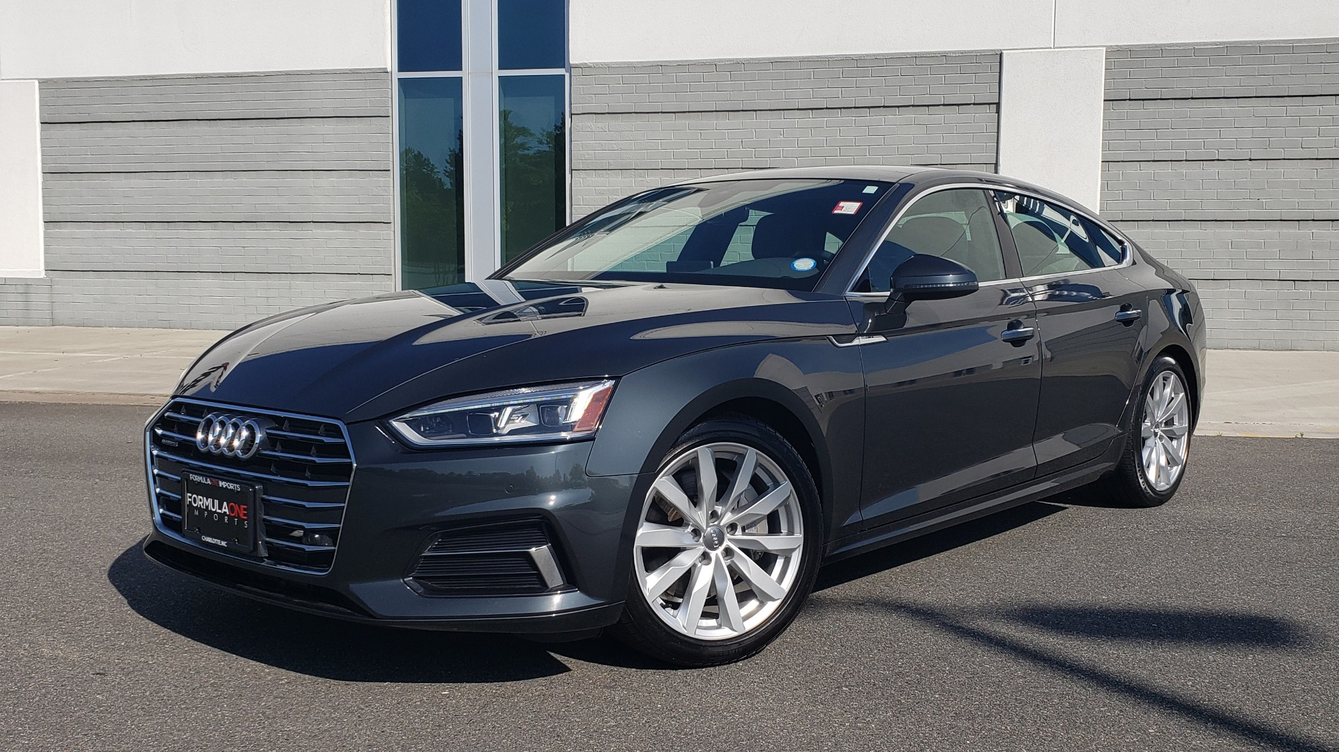 Used 2018 Audi A5 SPORTBACK PREMIUM PLUS 2.0T / AWD / NAV / B&O SND / SUNROOF / REARVIEW for sale Sold at Formula Imports in Charlotte NC 28227 10