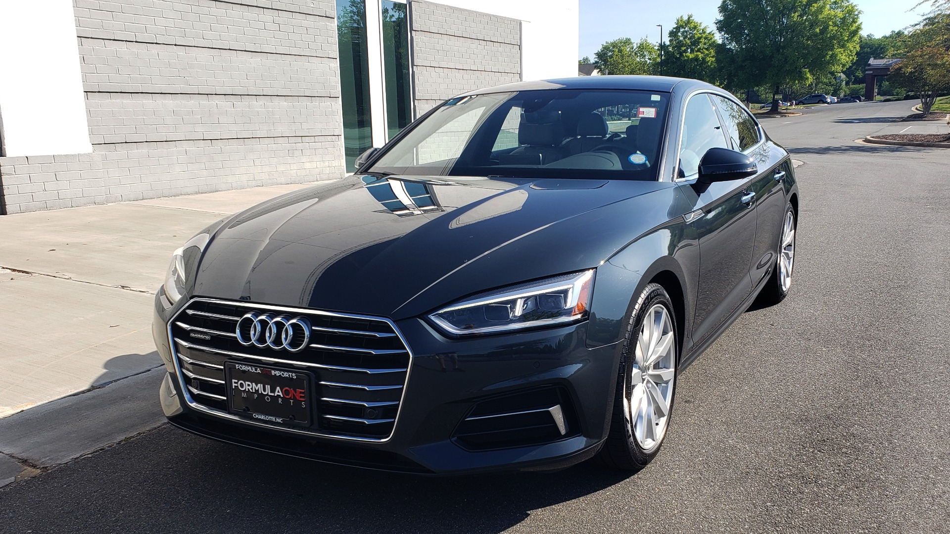 Used 2018 Audi A5 SPORTBACK PREMIUM PLUS 2.0T / AWD / NAV / B&O SND / SUNROOF / REARVIEW for sale Sold at Formula Imports in Charlotte NC 28227 2