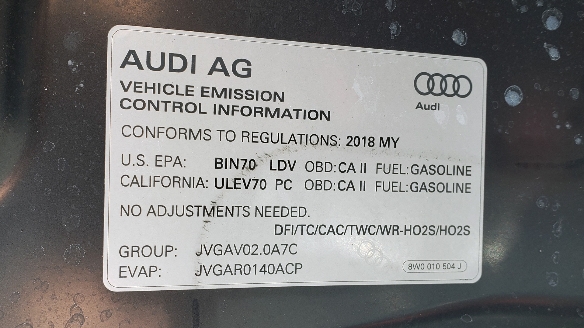 Used 2018 Audi A5 SPORTBACK PREMIUM PLUS 2.0T / AWD / NAV / B&O SND / SUNROOF / REARVIEW for sale Sold at Formula Imports in Charlotte NC 28227 20