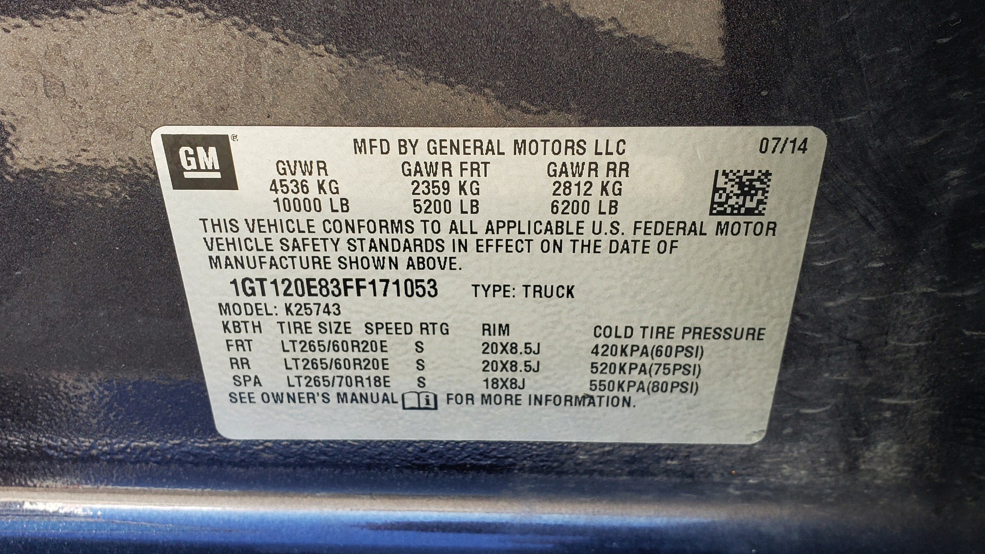 Used 2015 GMC SIERRA 2500HD DENALI 4WD CREWCAB / 6.6L DURAMAX / 6-SPD AUTO / NAV / BOSE for sale $50,995 at Formula Imports in Charlotte NC 28227 104