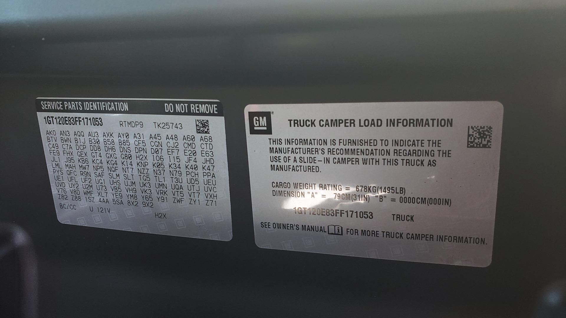 Used 2015 GMC SIERRA 2500HD DENALI 4WD CREWCAB / 6.6L DURAMAX / 6-SPD AUTO / NAV / BOSE for sale $50,995 at Formula Imports in Charlotte NC 28227 105