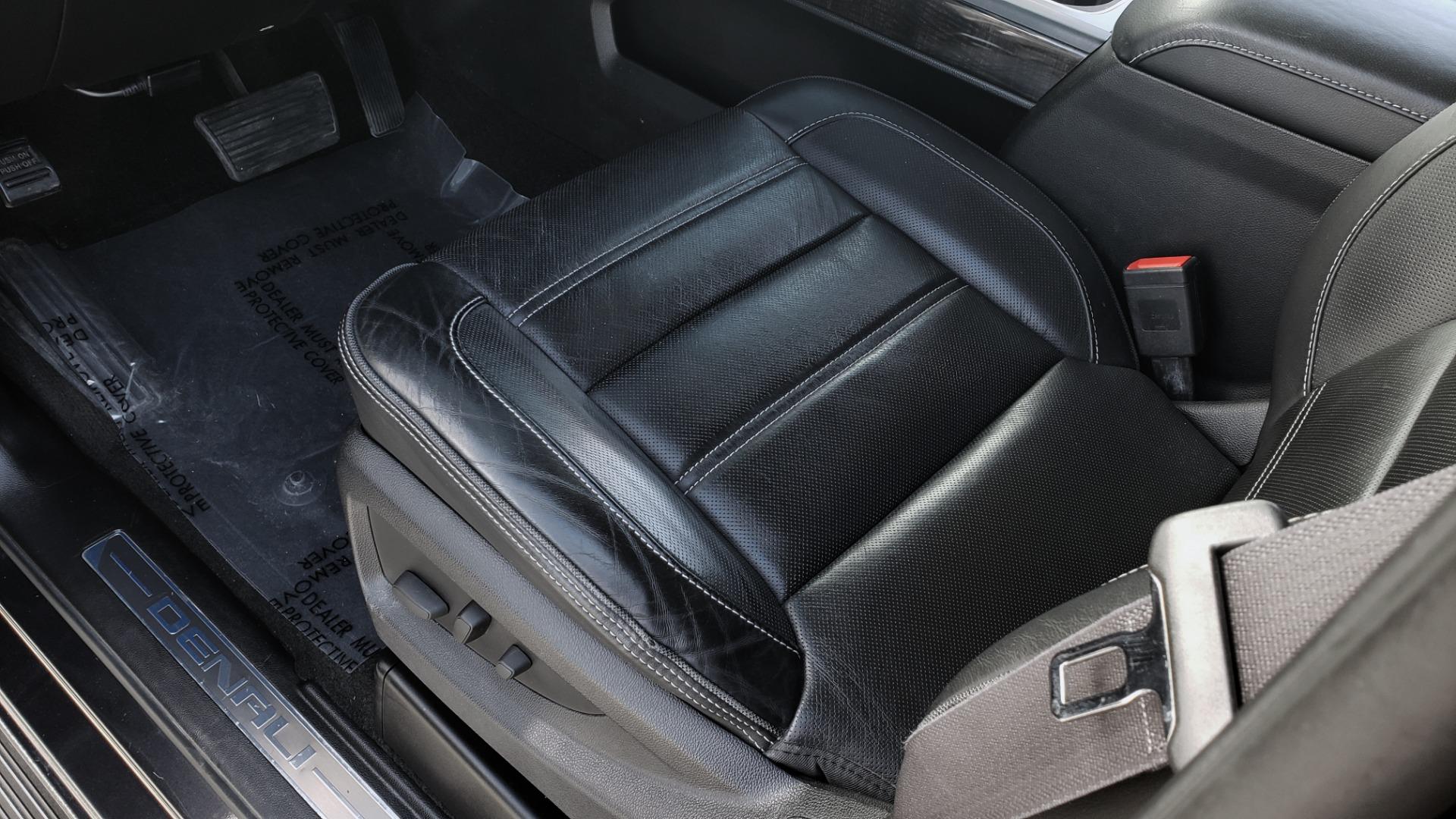 Used 2015 GMC SIERRA 2500HD DENALI 4WD CREWCAB / 6.6L DURAMAX / 6-SPD AUTO / NAV / BOSE for sale $50,995 at Formula Imports in Charlotte NC 28227 38