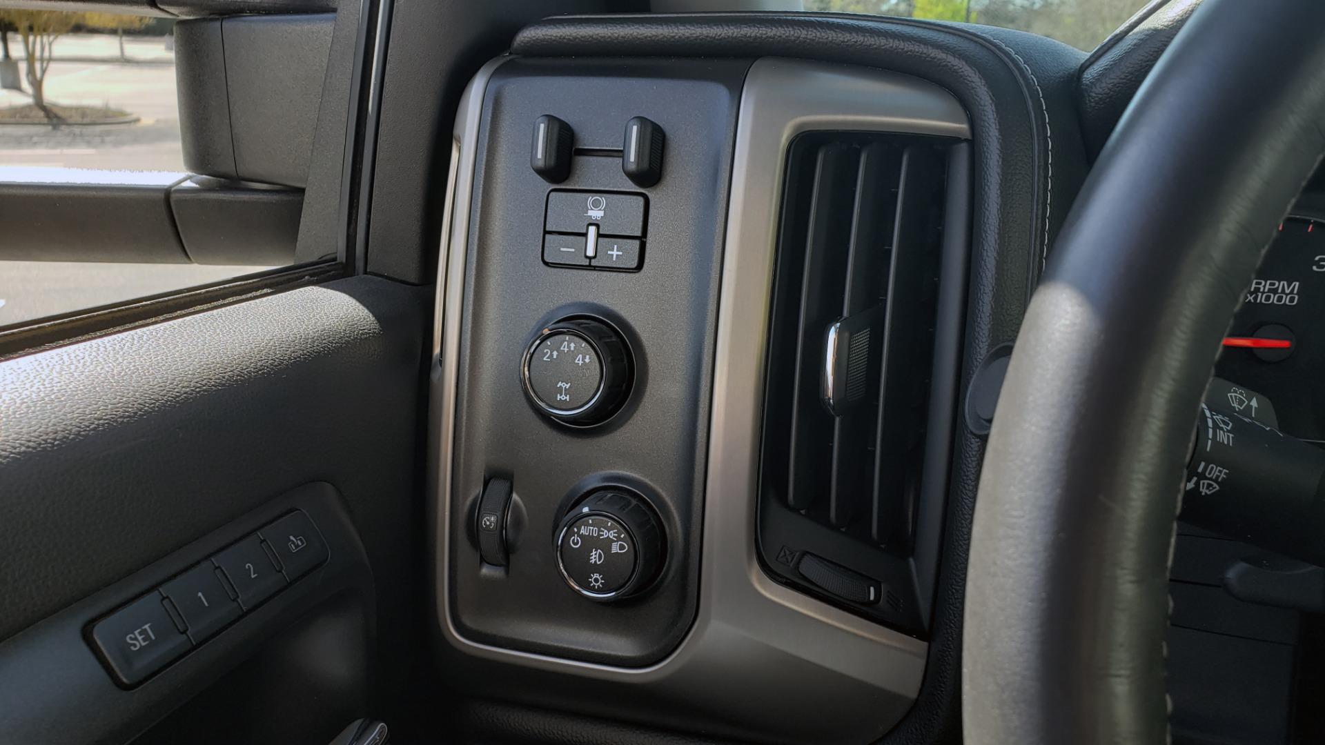 Used 2015 GMC SIERRA 2500HD DENALI 4WD CREWCAB / 6.6L DURAMAX / 6-SPD AUTO / NAV / BOSE for sale $50,995 at Formula Imports in Charlotte NC 28227 46