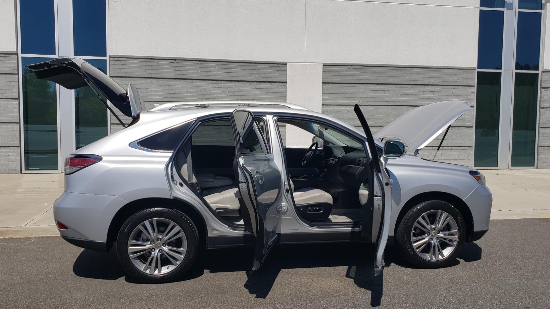 Used 2015 Lexus RX 450H AWD / PREM PKG / NAV / PARK ASST / HUD / BLIND SPOT MONITOR for sale Sold at Formula Imports in Charlotte NC 28227 12