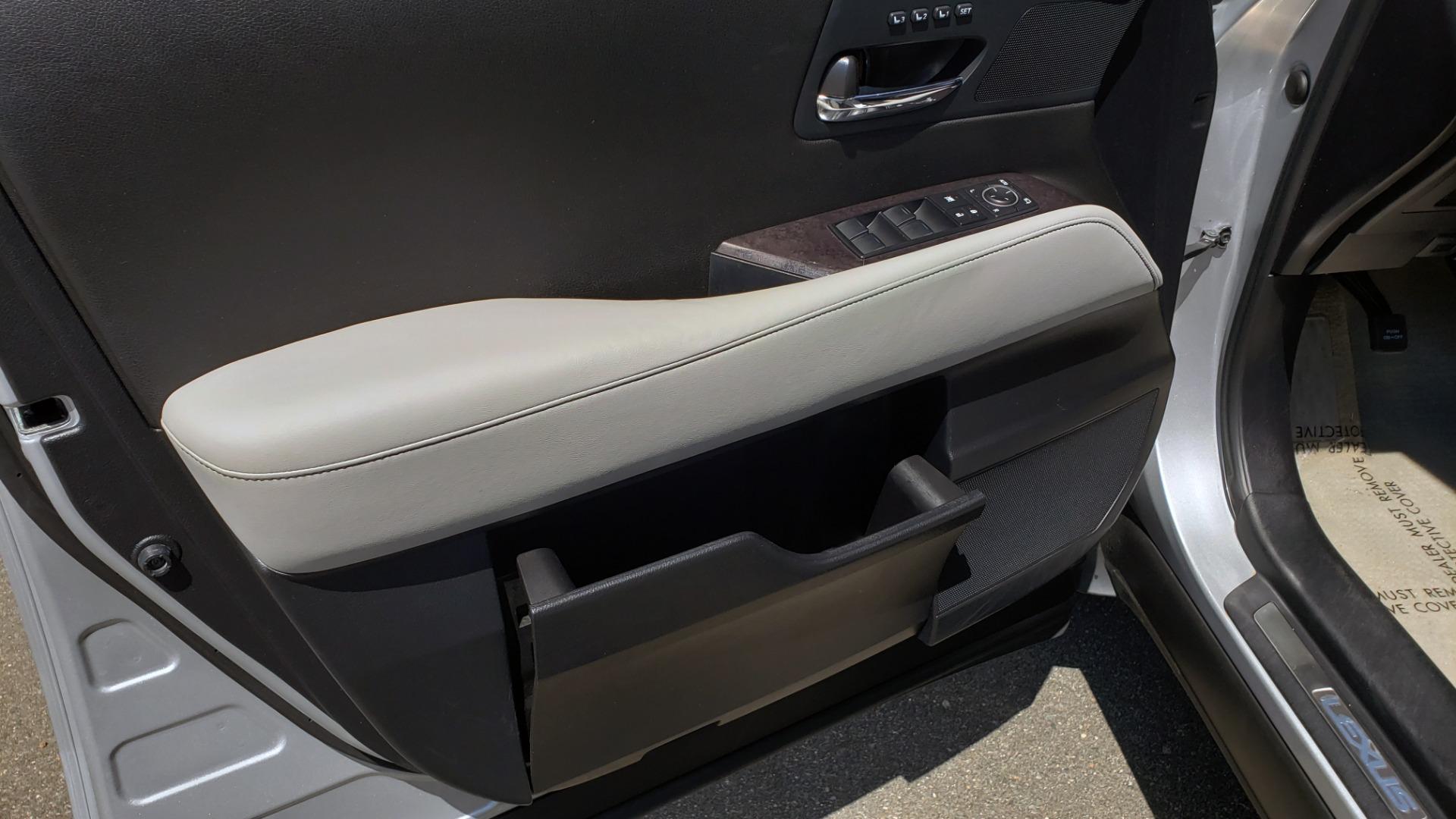 Used 2015 Lexus RX 450H AWD / PREM PKG / NAV / PARK ASST / HUD / BLIND SPOT MONITOR for sale Sold at Formula Imports in Charlotte NC 28227 33