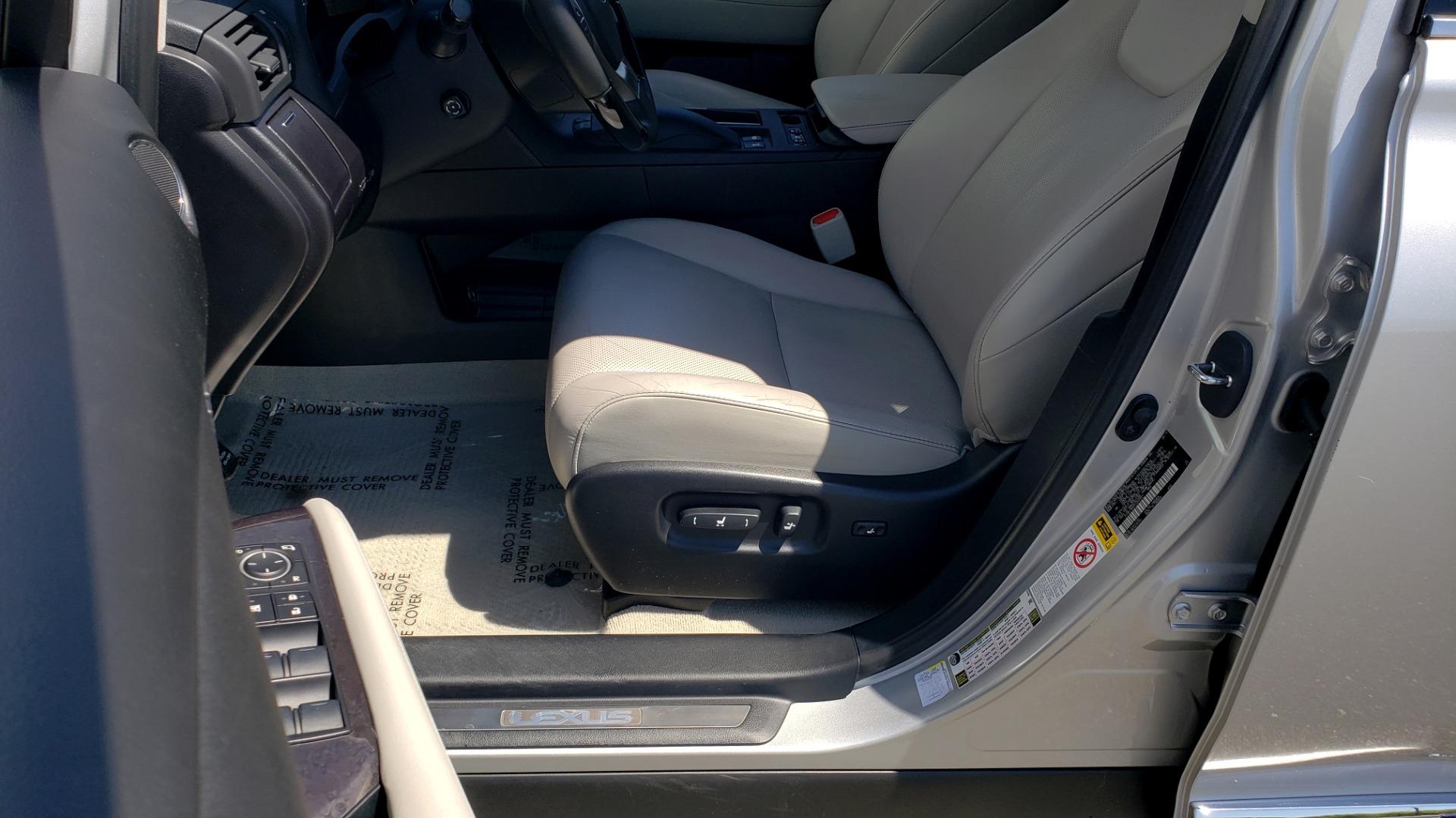 Used 2015 Lexus RX 450H AWD / PREM PKG / NAV / PARK ASST / HUD / BLIND SPOT MONITOR for sale Sold at Formula Imports in Charlotte NC 28227 35