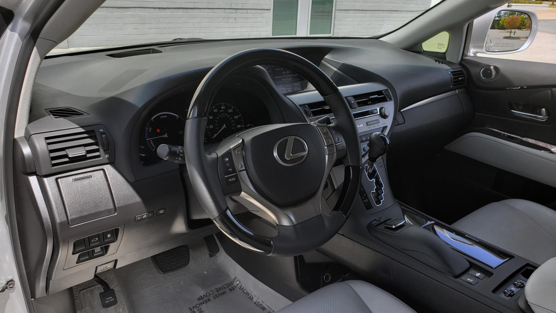Used 2015 Lexus RX 450H AWD / PREM PKG / NAV / PARK ASST / HUD / BLIND SPOT MONITOR for sale Sold at Formula Imports in Charlotte NC 28227 38