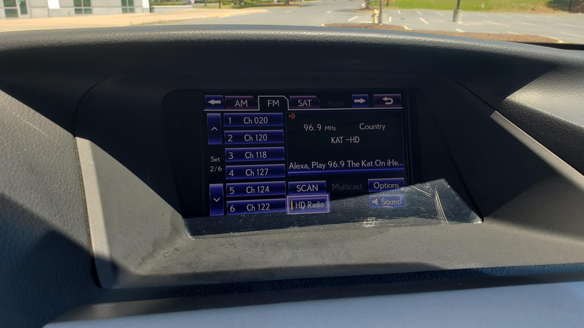 Used 2015 Lexus RX 450H AWD / PREM PKG / NAV / PARK ASST / HUD / BLIND SPOT MONITOR for sale Sold at Formula Imports in Charlotte NC 28227 50