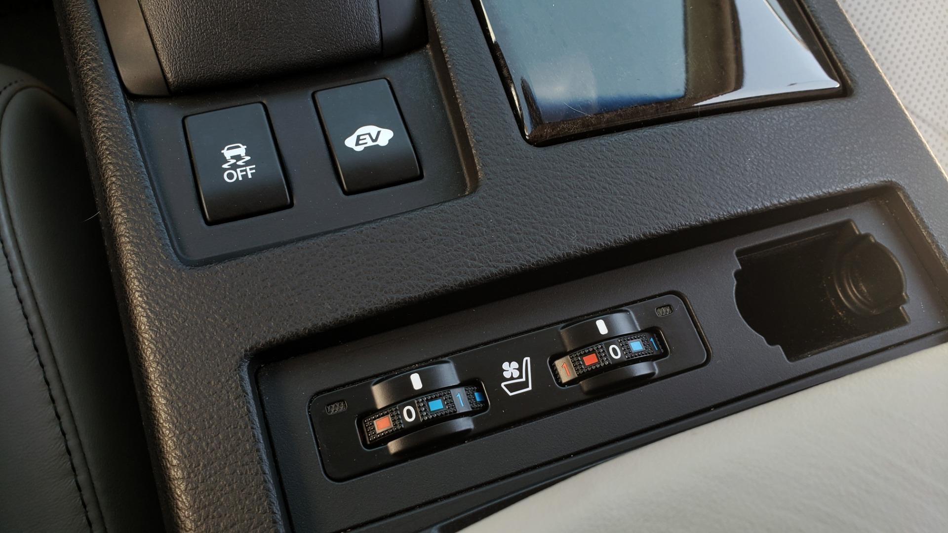 Used 2015 Lexus RX 450H AWD / PREM PKG / NAV / PARK ASST / HUD / BLIND SPOT MONITOR for sale Sold at Formula Imports in Charlotte NC 28227 54