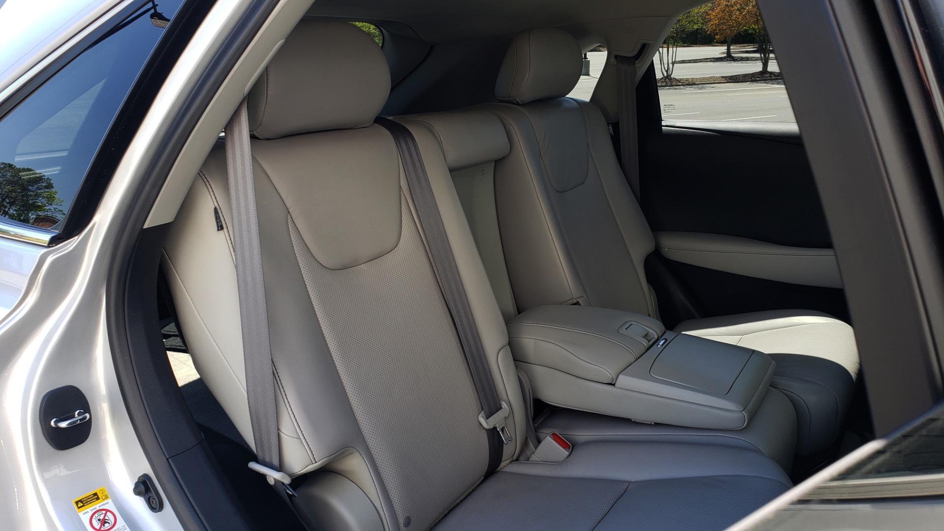 Used 2015 Lexus RX 450H AWD / PREM PKG / NAV / PARK ASST / HUD / BLIND SPOT MONITOR for sale Sold at Formula Imports in Charlotte NC 28227 77