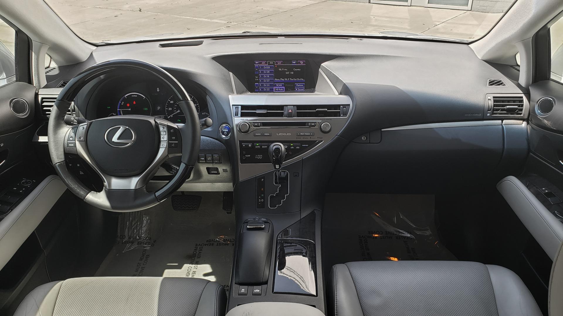Used 2015 Lexus RX 450H AWD / PREM PKG / NAV / PARK ASST / HUD / BLIND SPOT MONITOR for sale Sold at Formula Imports in Charlotte NC 28227 82